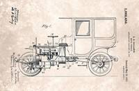 US1062452-0 Vintage Motor Vehicle Patent From 1913
