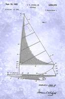 US3054372-0 Sailboat Patent From 1962