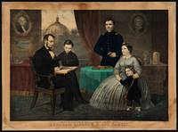 [Kelly & Sons portrait of Abraham Lincoln and his