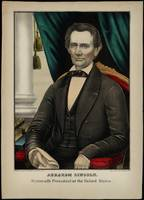 [Kellogg portrait of Abraham Lincoln