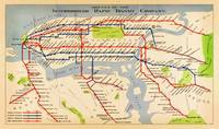 Map of NYC subway routes (1924)
