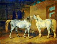 Abraham Cooper - Draught Horses 1828