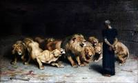 Daniel In The Lions Den by Briton Riviere 2
