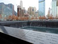September 11 Memorial in Lower Manhattan