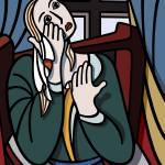 """Crying Girl"" by Chubar"