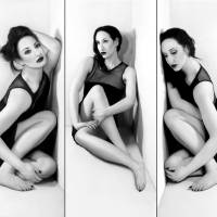Anxiety 1 - Triptych - Self Portrait Art Prints & Posters by Jaeda DeWalt