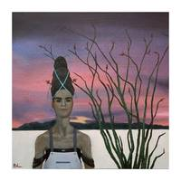 Henrietta and the Ocotillo