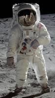 Apollo 11 A7L space suit worn by BUZZ ALDRIN. Aldr