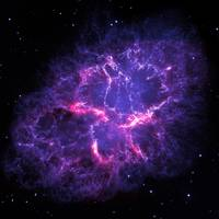 Crab Nebula  by NASA