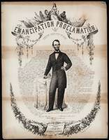 Emancipation proclamation issued January 14, 1863