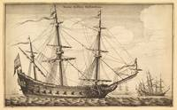 Dutch Warship by Wenceslaus Hollar (Wenzel Vaclav)