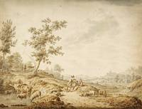 Landscape with Herdsmen and Their Cattle by Jordan
