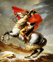 Jacques_Louis_David_-_Napoleon Crossing the Alps 2