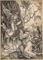 Joachim and the Angel; Verso by Anton Möller the E