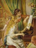 Two Young Girls at the Piano Pierre-Auguste Renoir