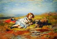 William McTaggart - Playmates, Gracie
