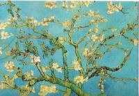 Almond Branches in Bloom, San Remy, c.1890  By Vin