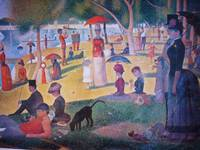 A Sunday on La Grande Jatte 1884 by Georges Seurat