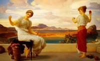 Lord Frederic Leighton - Winding the skein