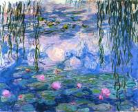 Water Lilies (Nymphéas), c.1916 By Claude Monet 2