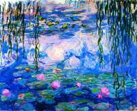 Water Lilies (Nymphéas), c.1916-19 By Claude Monet