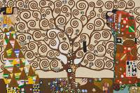 The Tree of Life, Stoclet Frieze, c.1909 By Gustav