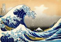 The Great Wave at Kanagawa , c