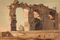 Francis Towne- The Claudian Aquaduct Rome