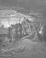 Death of Ahab by Gustave Dore (1832-1883)