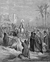 Entry of Jesus Into Jerusalem by Gustave Dore (183