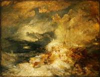 Joseph Mallord William Turner A Disaster at Sea c.