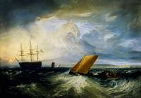 Joseph Mallord William Turner - Sheerness as seen