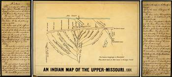 Indian Map of the Upper Missouri River (1801)