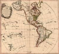 Amtique Map Americas