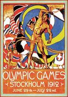 1912-Stockholm-Summer-Olympic-Games-Poster1