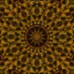 """Liquid Gold Mandala"" by richardhjones"