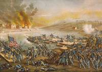 Civil-War- The Battle Of Fredericksburg -Pontoon-B