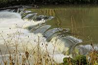 Weir Close-up in Wolfscote Dale (39929-RDA)