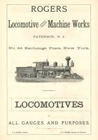 Rogers Locomotive Ad Engraving
