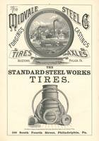 Midvale Steel Co Ad Engraving