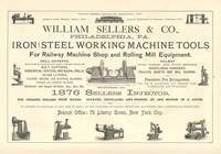 Iron and Steel Tools Ad Engraving