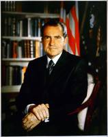 Nixon Official Presidential Portrait
