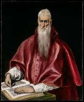 Saint Jerome as Scholar. Saint Jerome as Scholar.