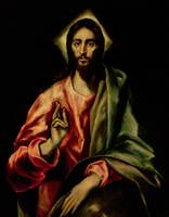 El Greco  - Christ Blessing