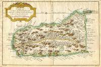 1758 Bellin Map of St. Lucia