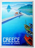 Greece Island of Corfu Poster