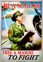 be_a_marine - Marine Corps recruiting poster from