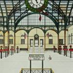 """""""Penn Station NYC Somewhere in Time"""" by ChristopherBuckley"""