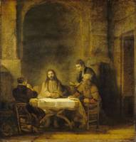 REMBRANDT VAN RIJN - THE SUPPER AT EMMAUS [LES PER