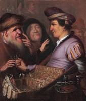 REMBRANDT VAN RIJN - The Spectacles-pedlar (Sight)